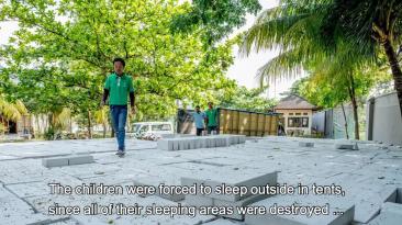 ACS helps after Lombok earthquake 2018